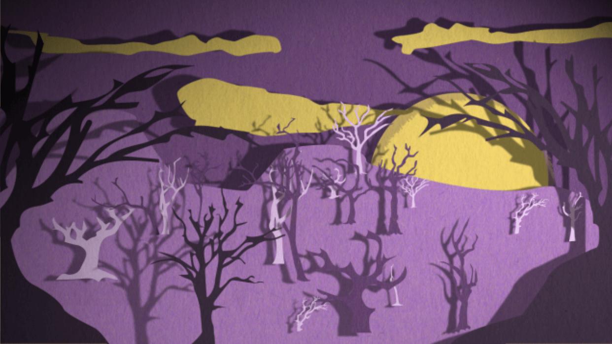 Purple Nights - student project