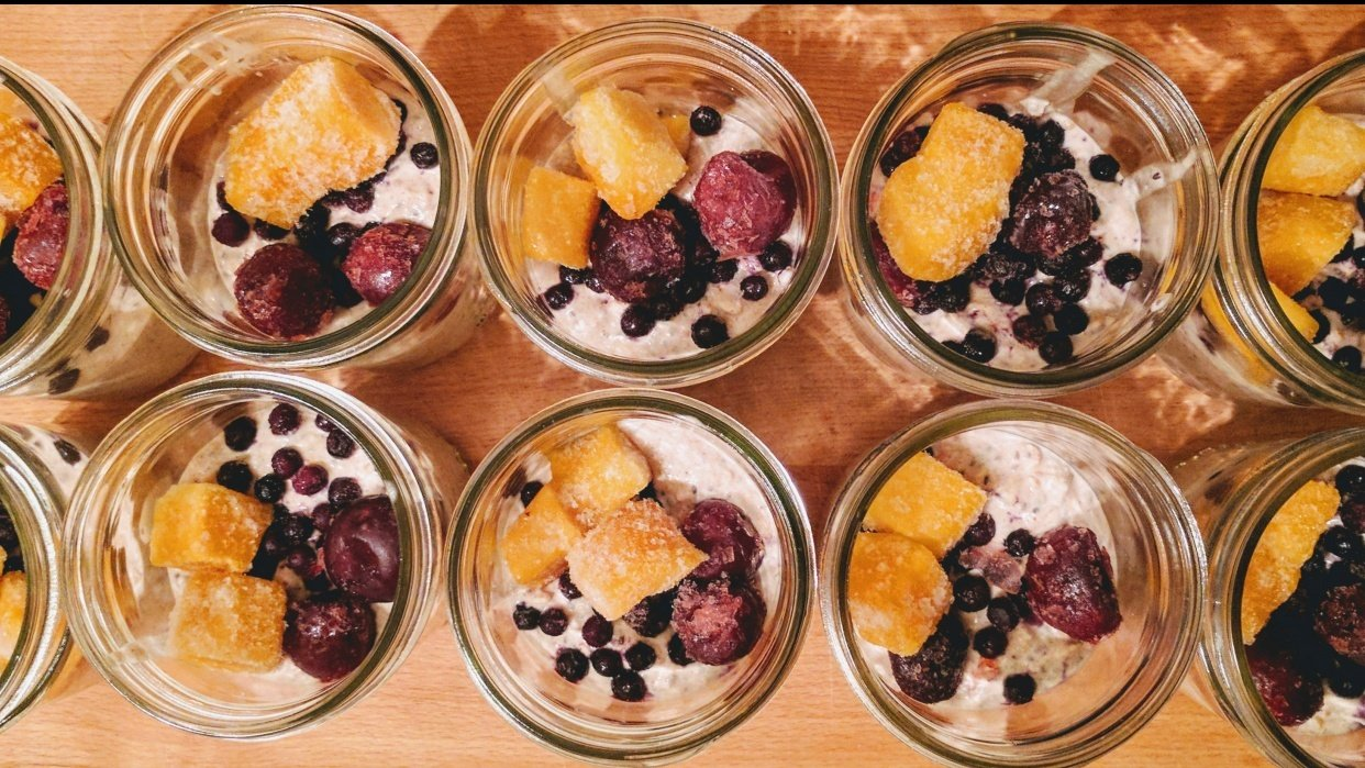 Overnight Oats - student project