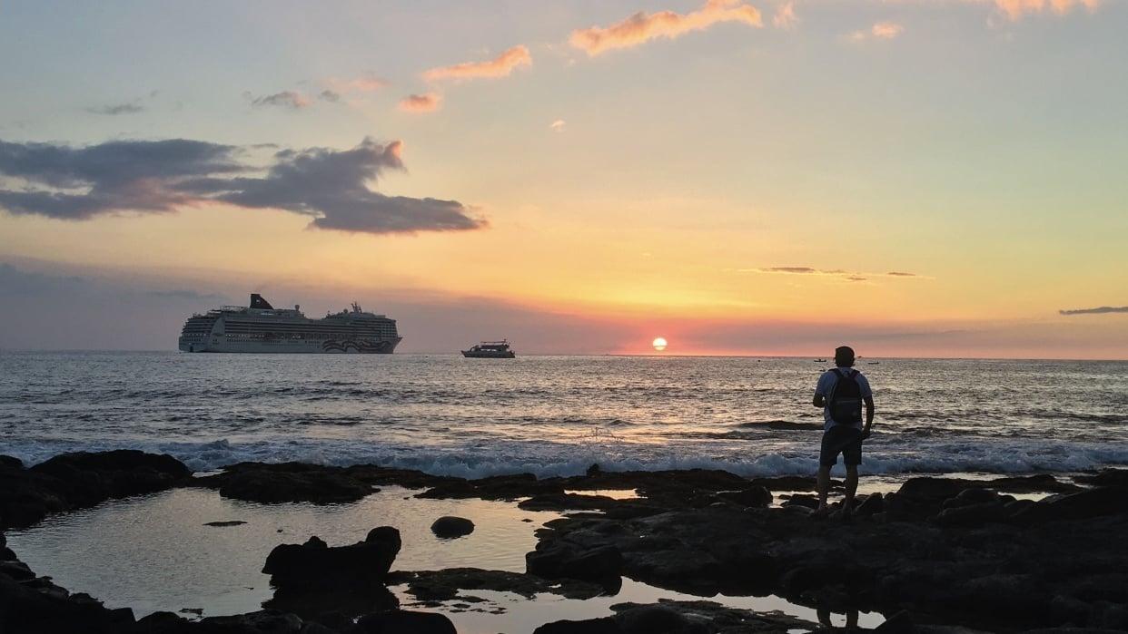 Hawaiian Sunset - student project
