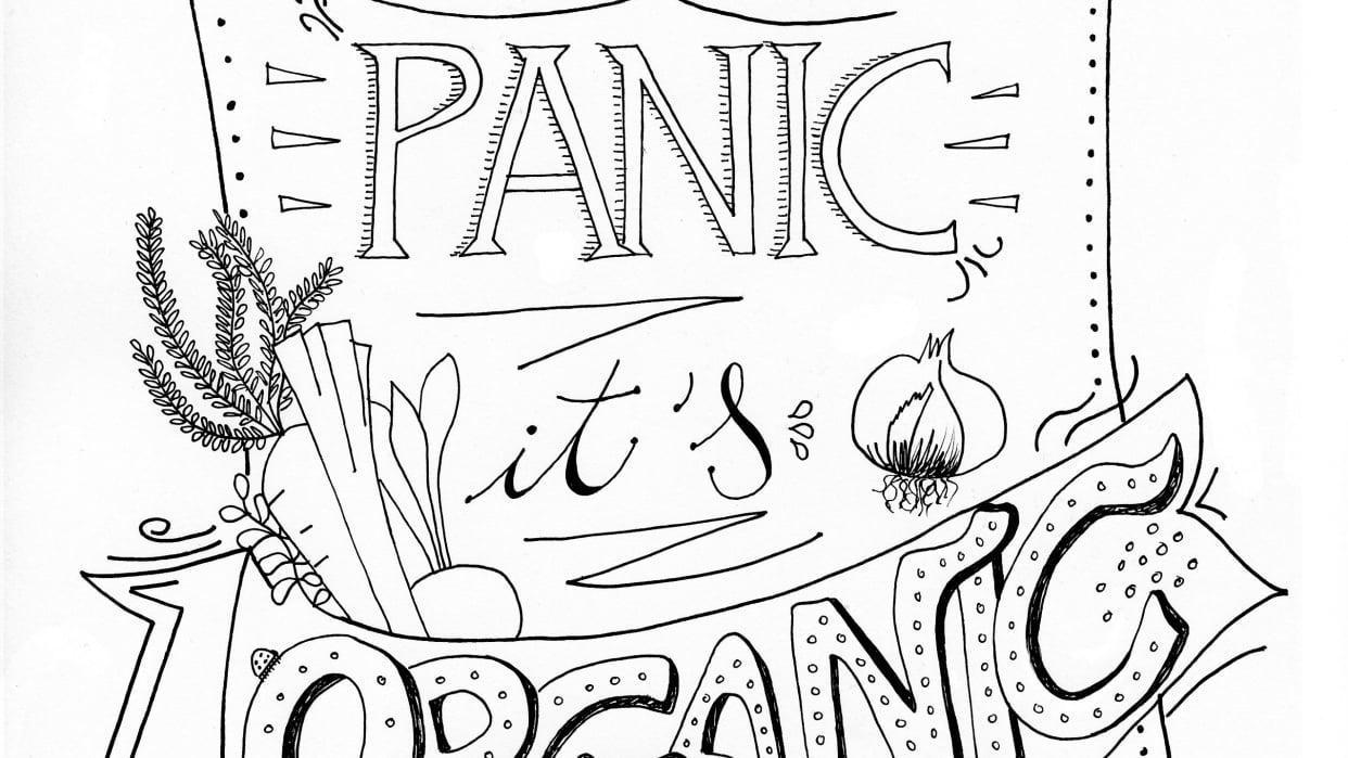 Don't Panic it's Organic - student project