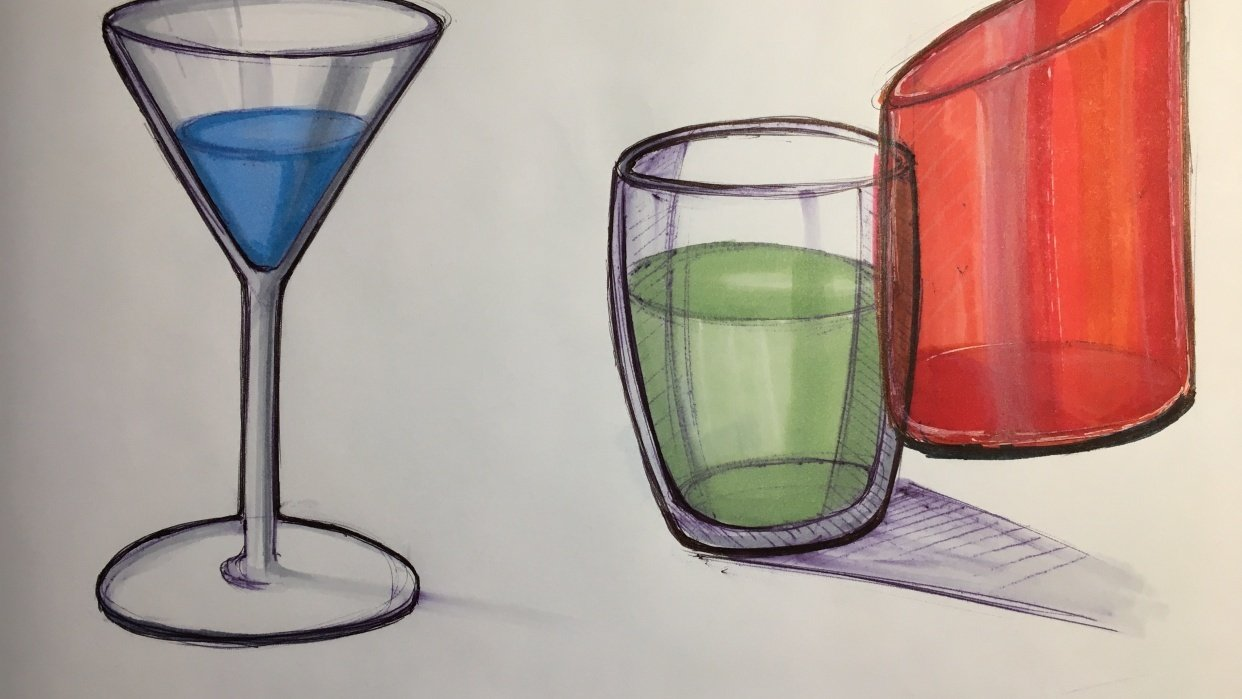 Glasses - student project