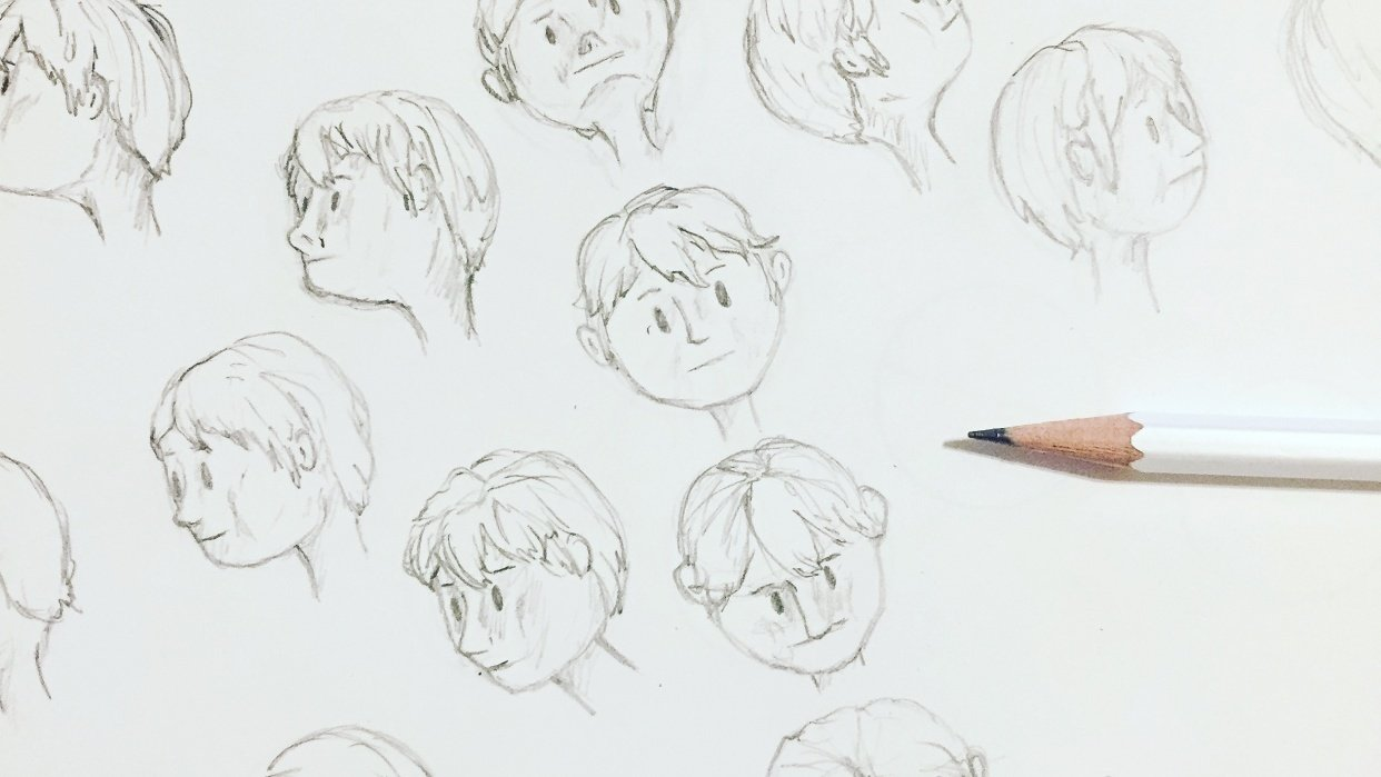 Drawing the Head - Part 3 - student project