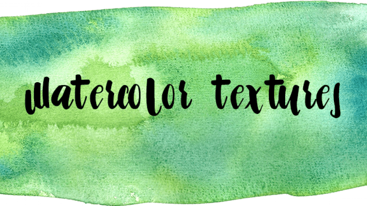 Watercolor Textures Collection - student project