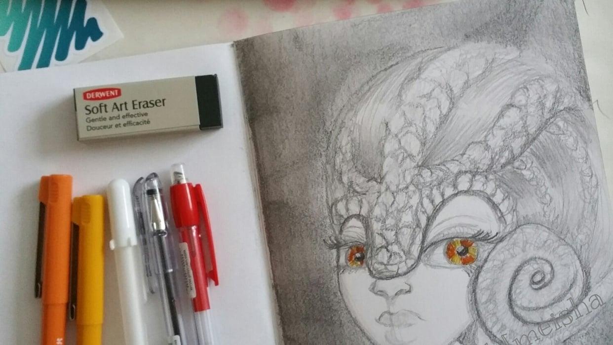 Chammy Chamelegirl - student project
