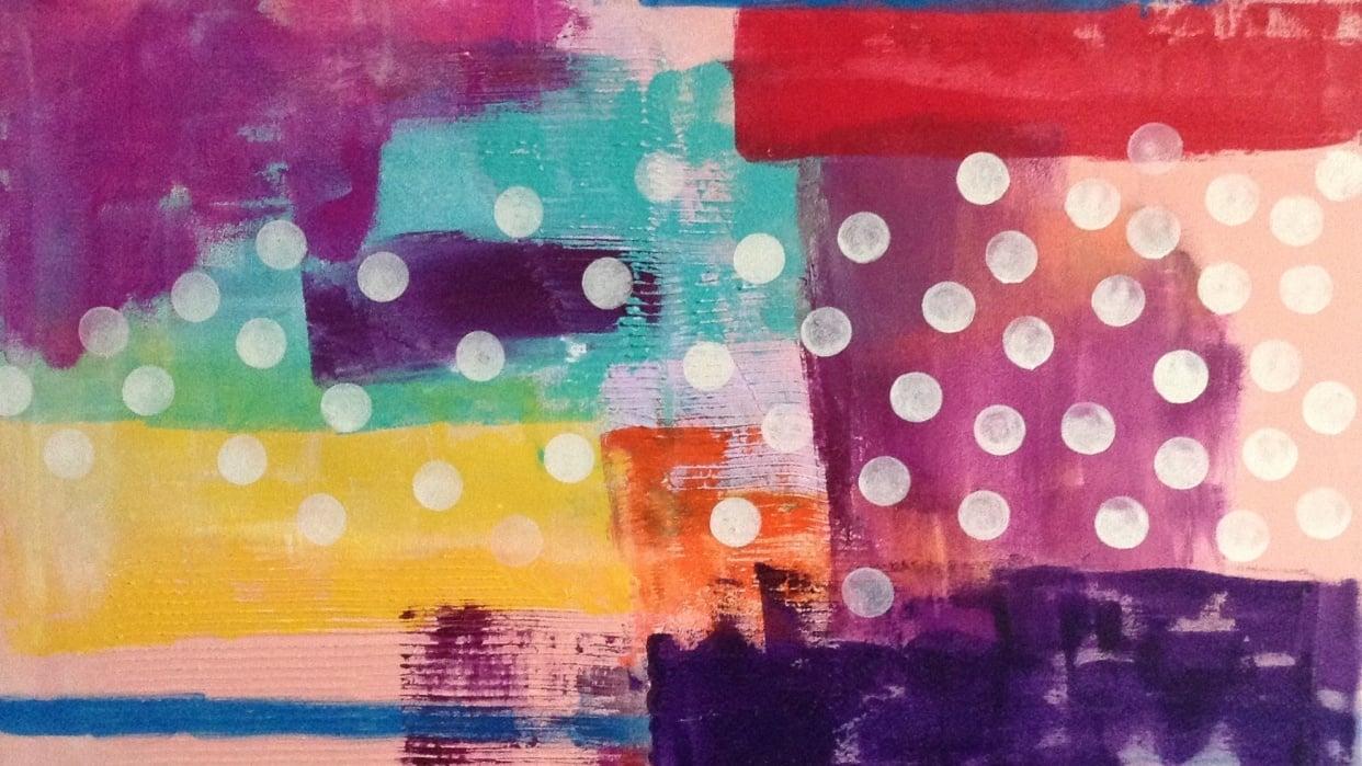 Beth Shereyf Richards   Abstract Artist Bio - student project
