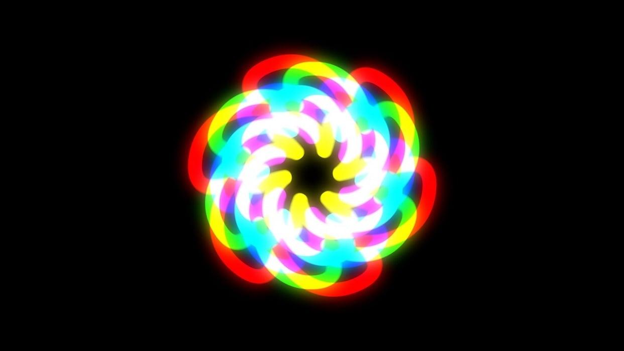 Mesmerizing Glowstar - student project