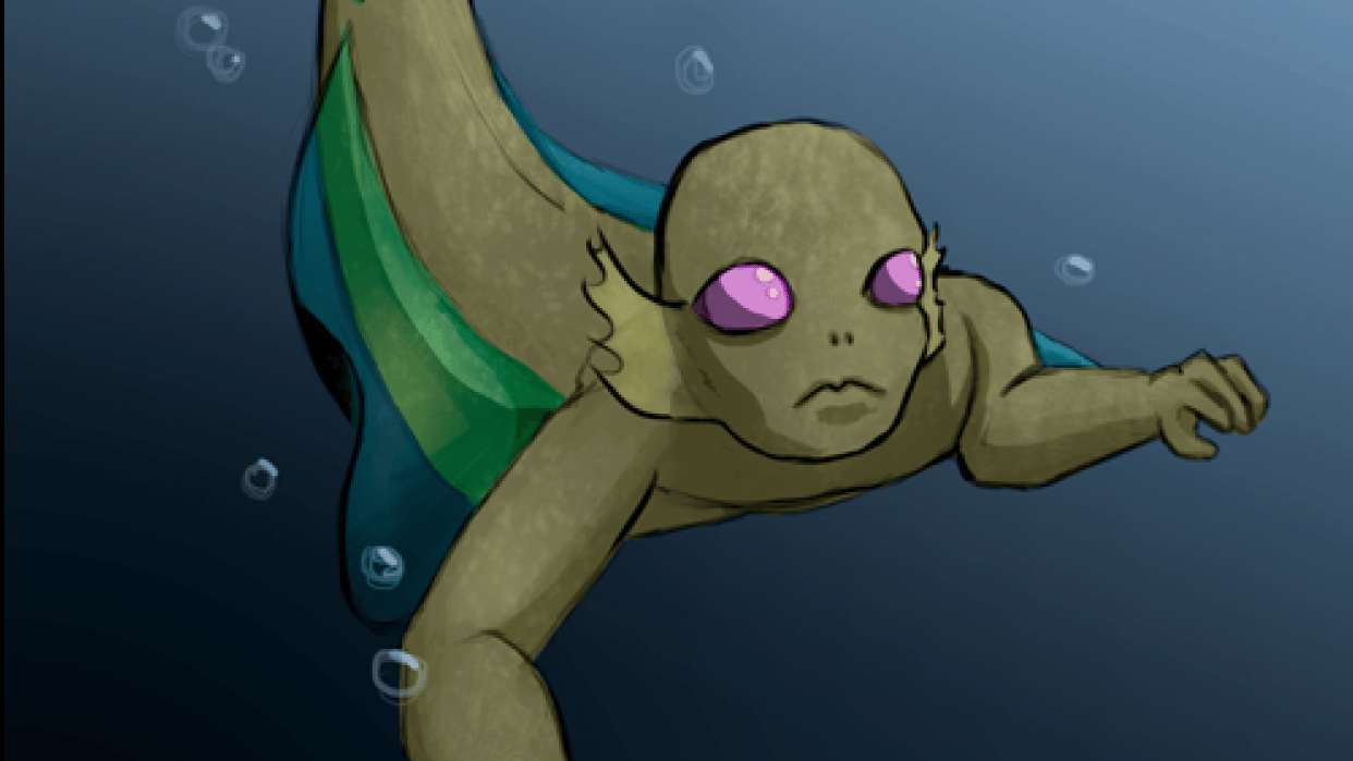 Merperson - student project