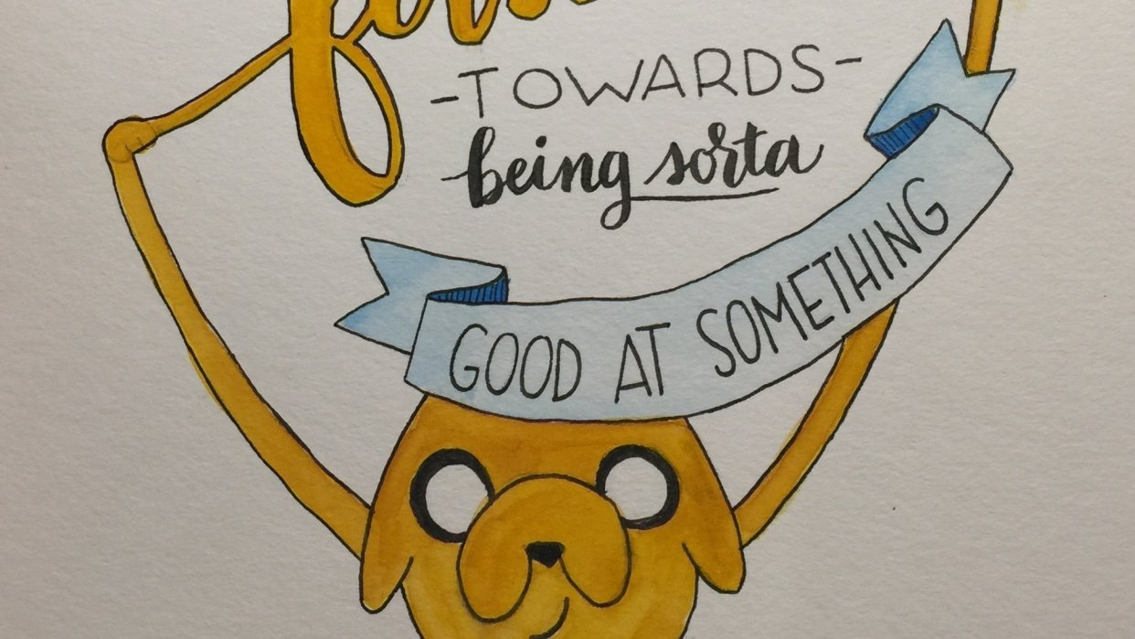 Adventure Time Quote - student project