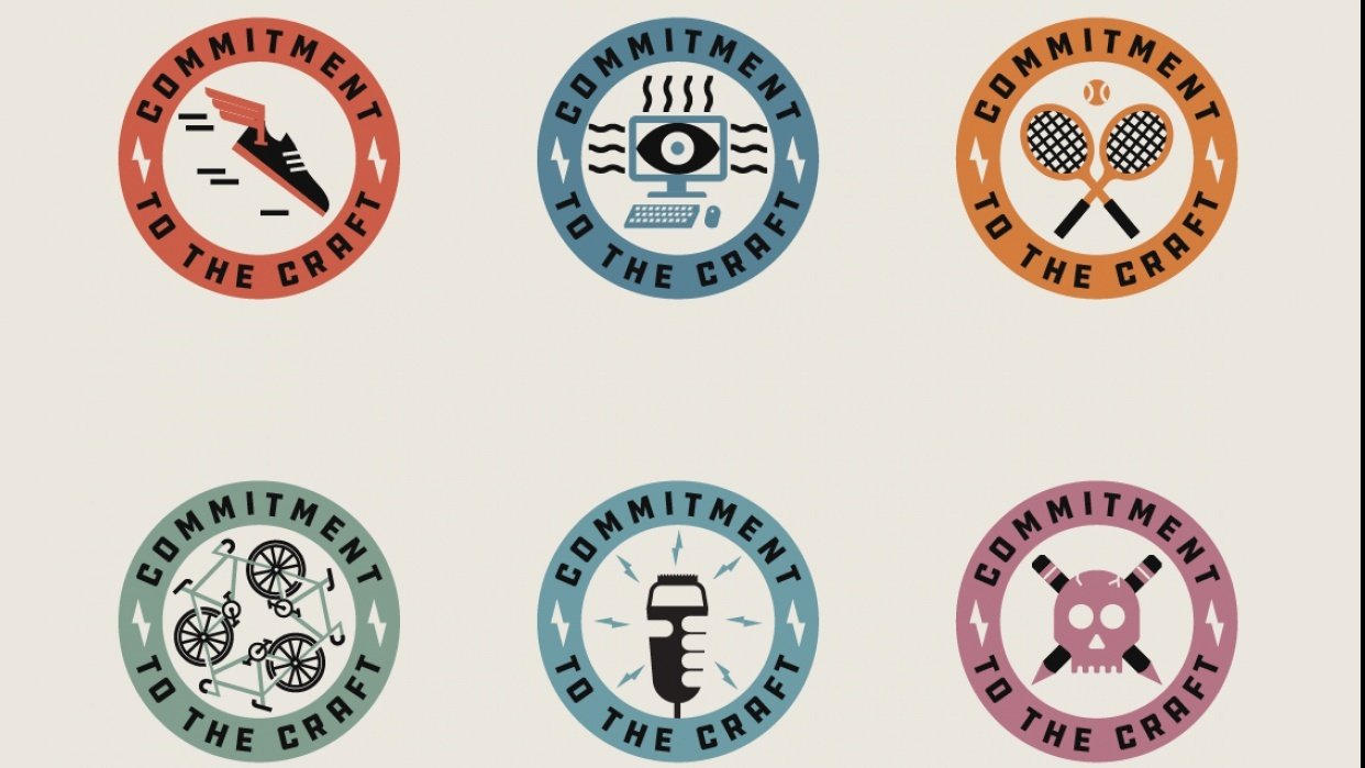 Badge series - student project