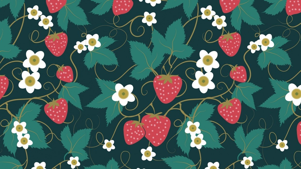 Olivia's Repeat Patterns with Adobe Illustrator - student project