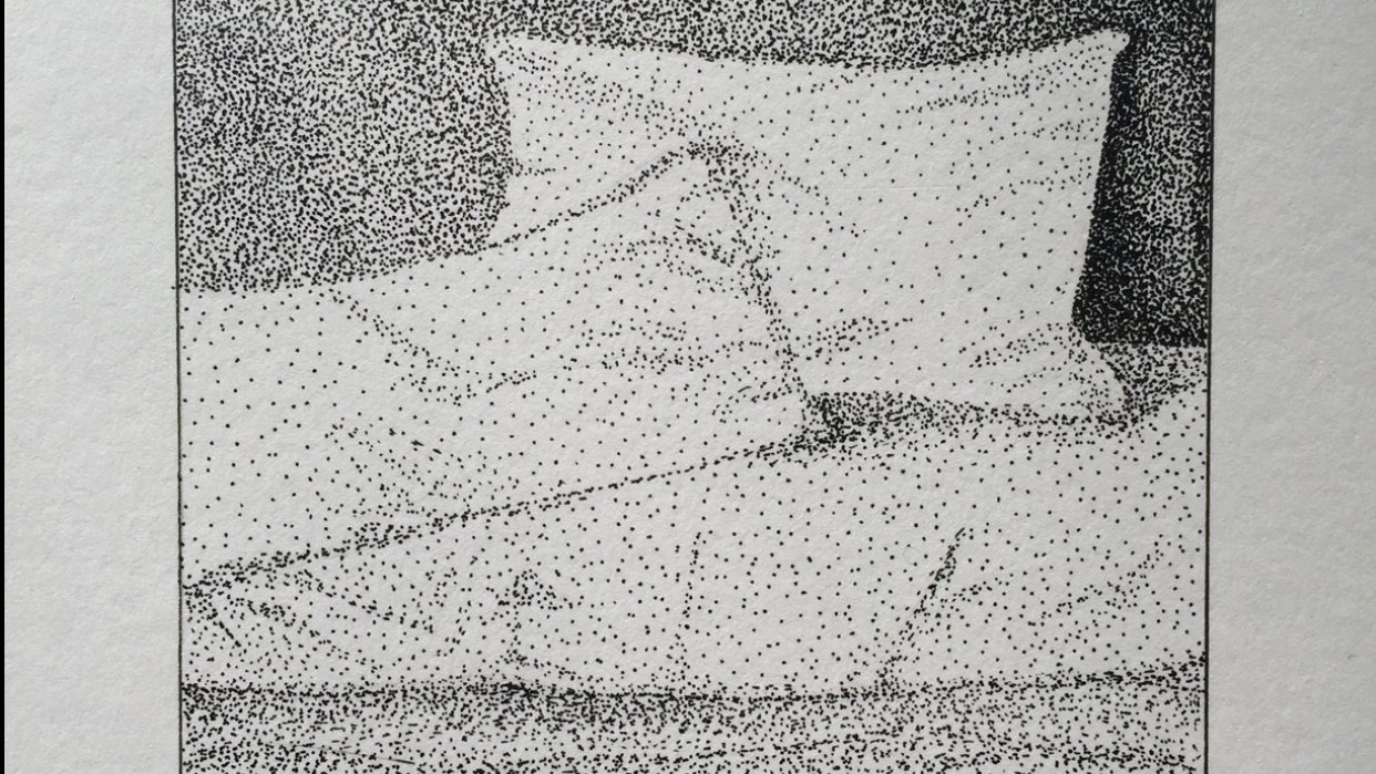 Stippling a dream - student project