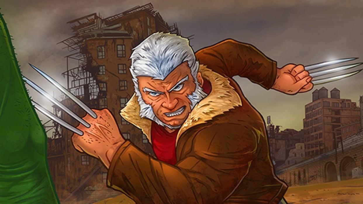 Old Man Logan - student project