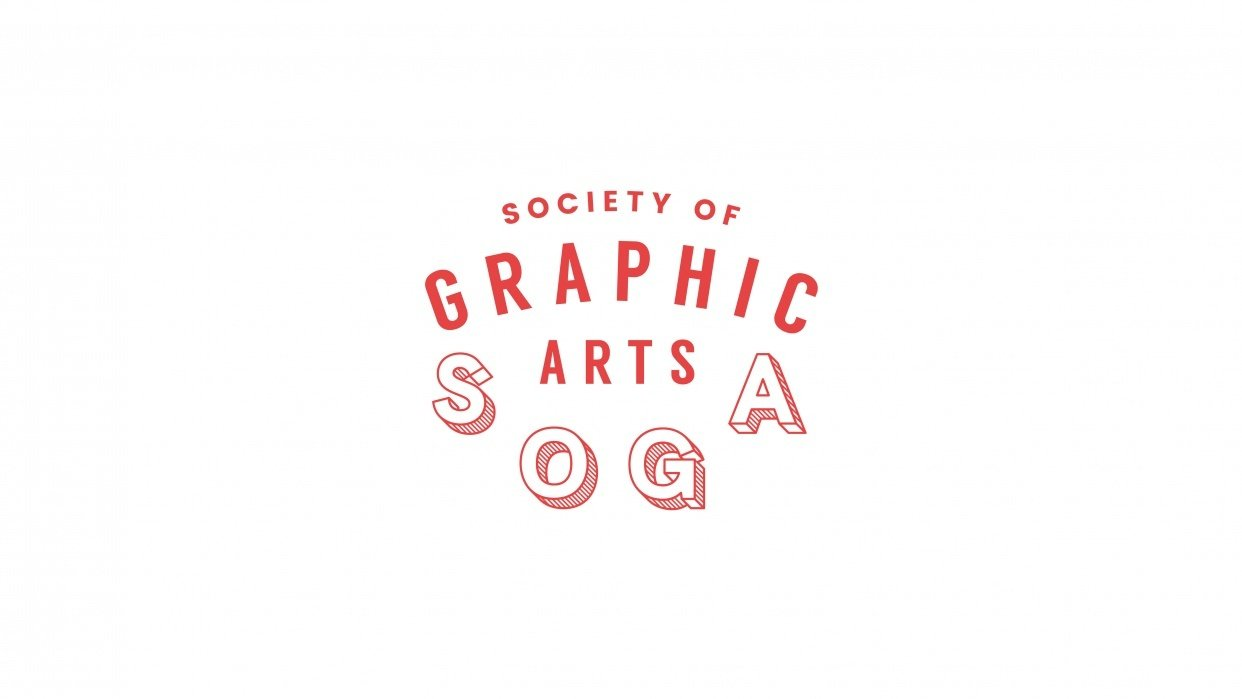 Society of Graphic Arts - SOGA logo - student project