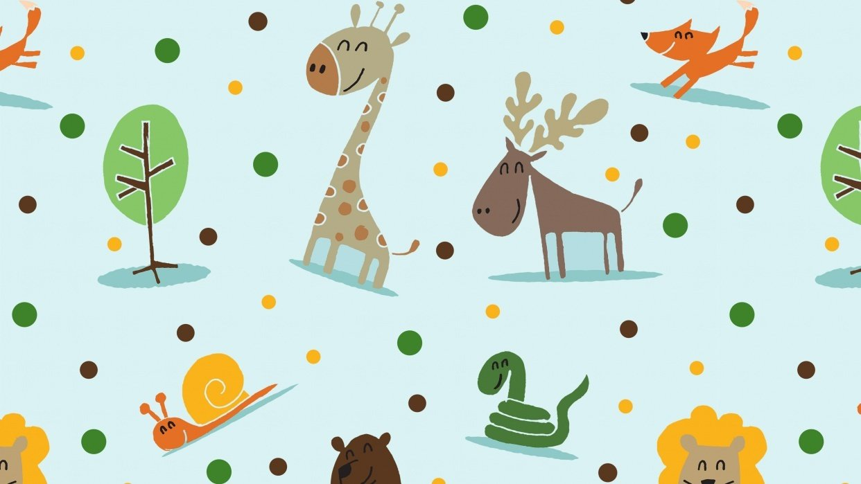 Animals Pattern - student project