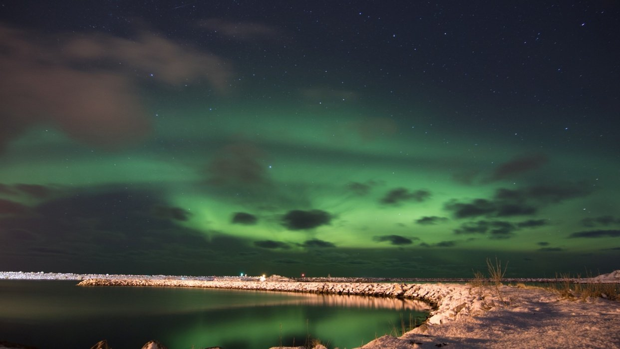 Northern Lights in Andenes Norway - student project