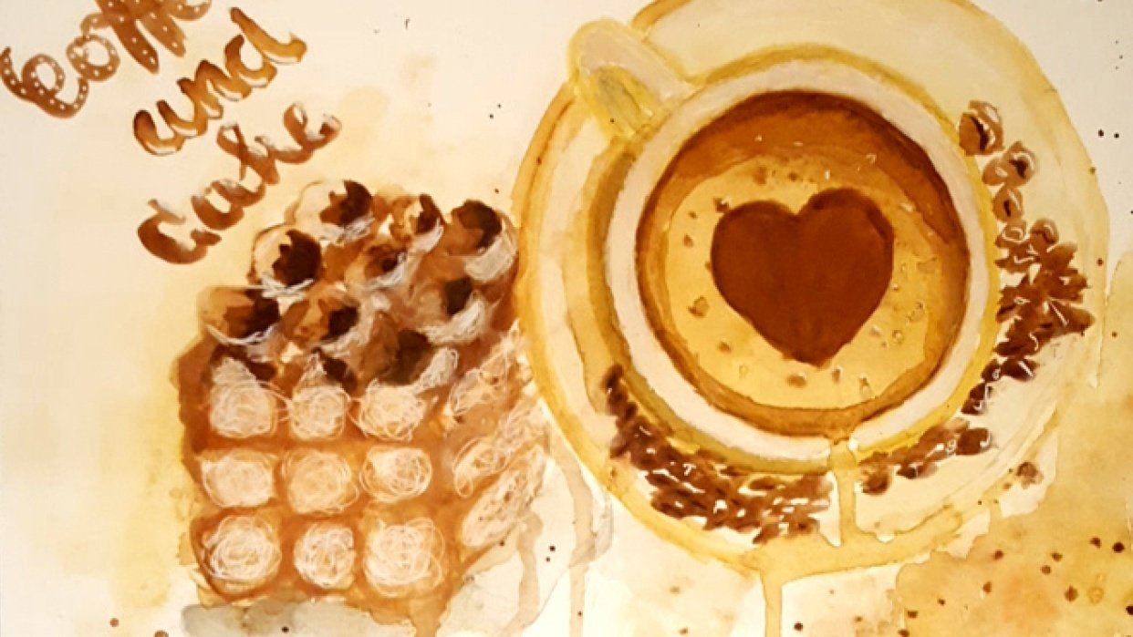 Coffee and Tiramisu  - student project
