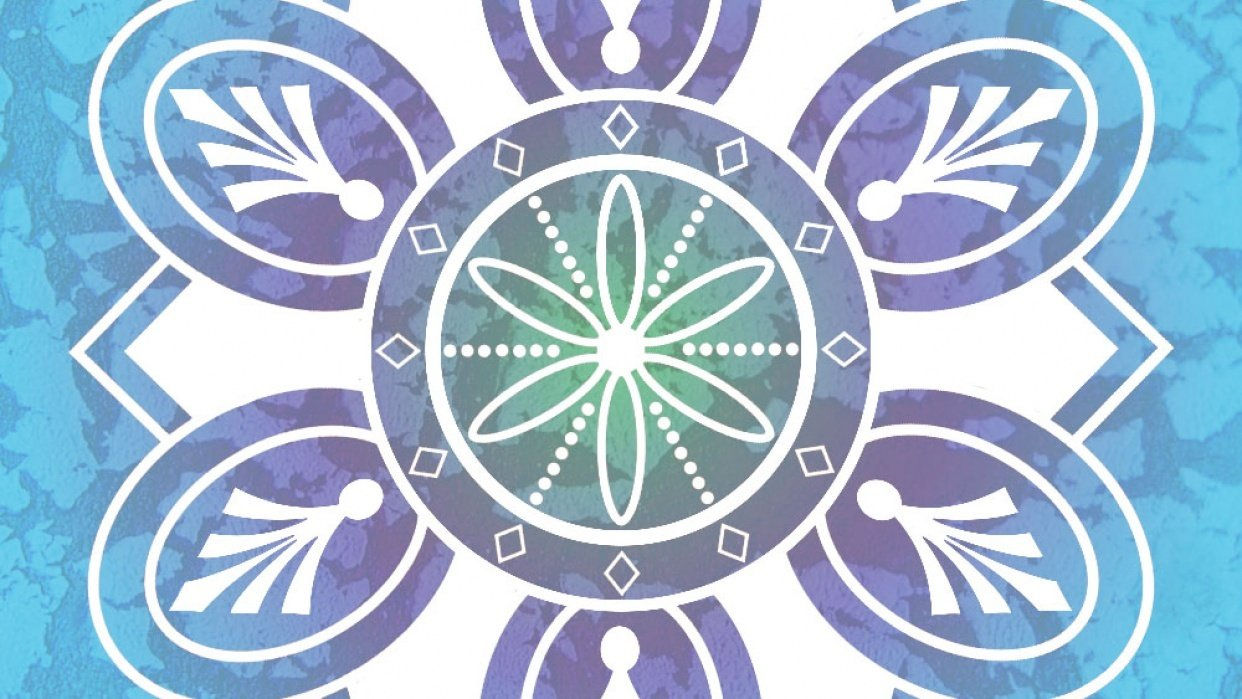 Mandala in Photoshop - student project