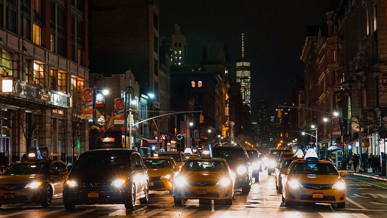 A Night in the City... New York - student project