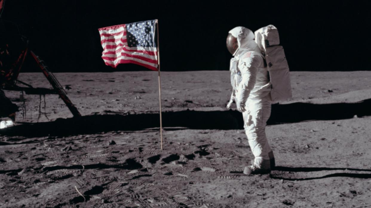 Moon Landing - student project