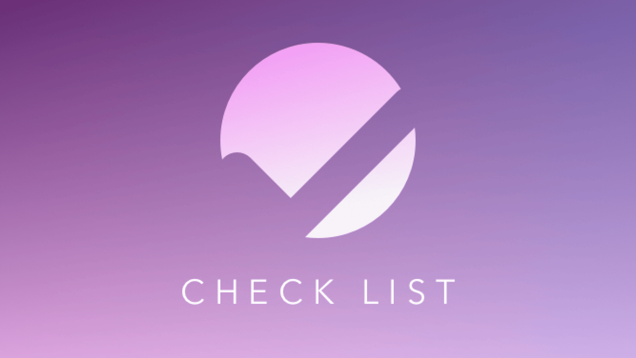 Check List - student project