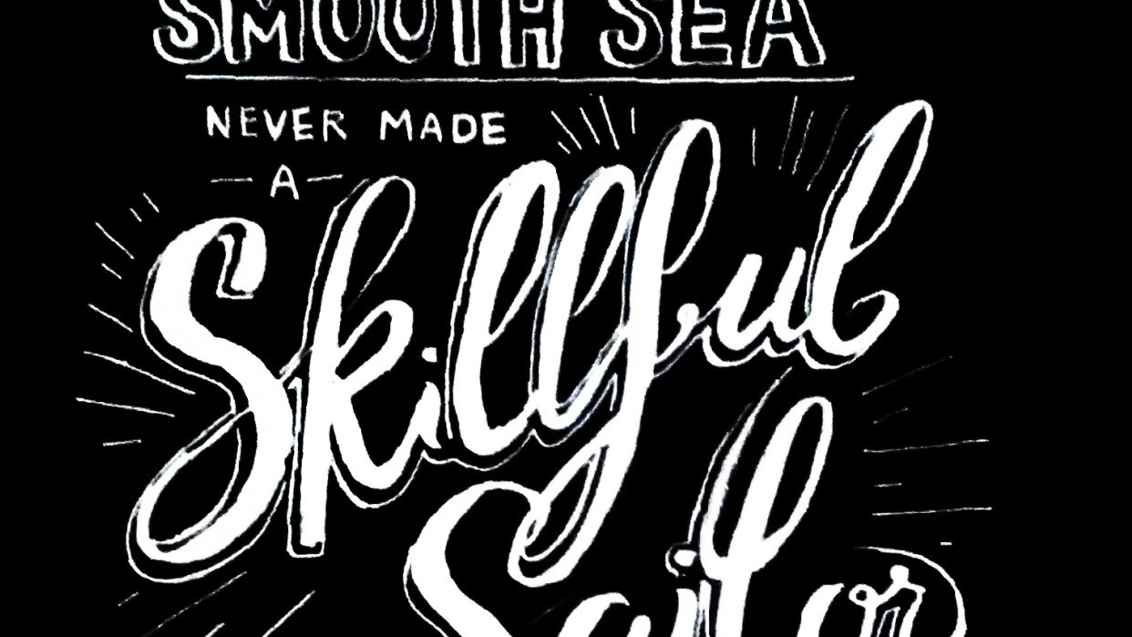 hand lettering  - student project