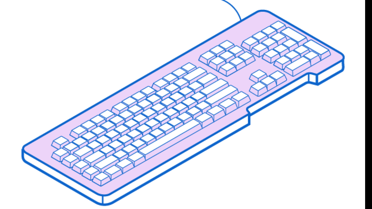 Iso Keyboard - student project