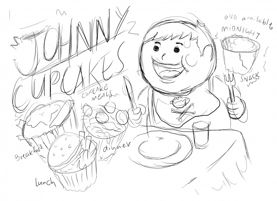 Cupcake Meals!  - student project