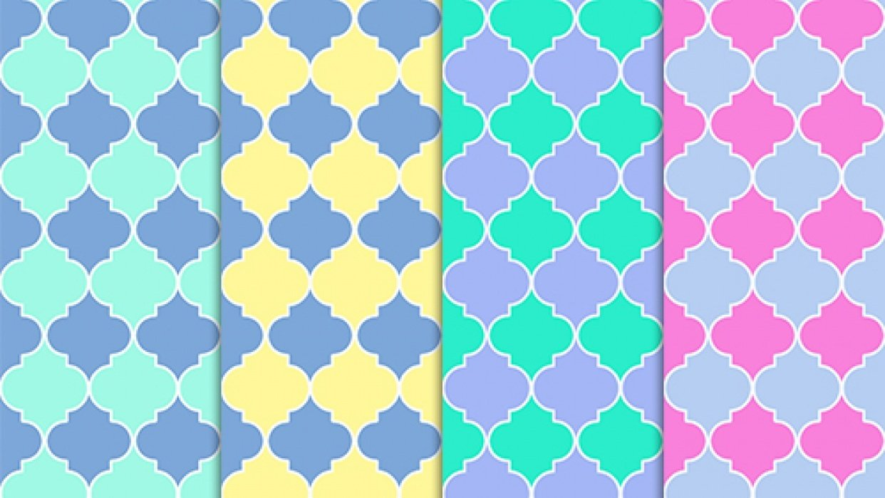 3 Exotic Patterns - student project