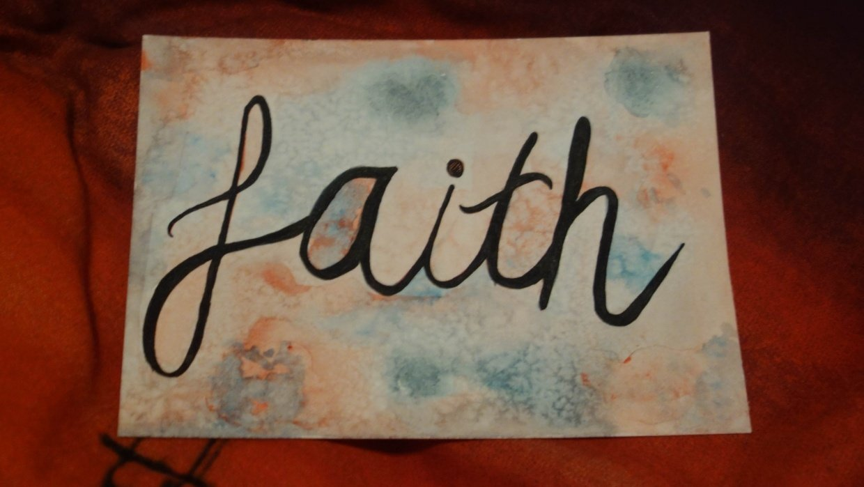 Have faith - student project