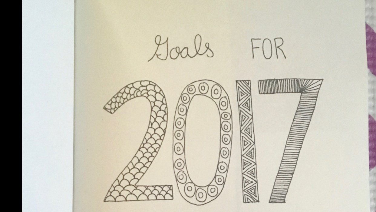 Goals for 2017 - student project