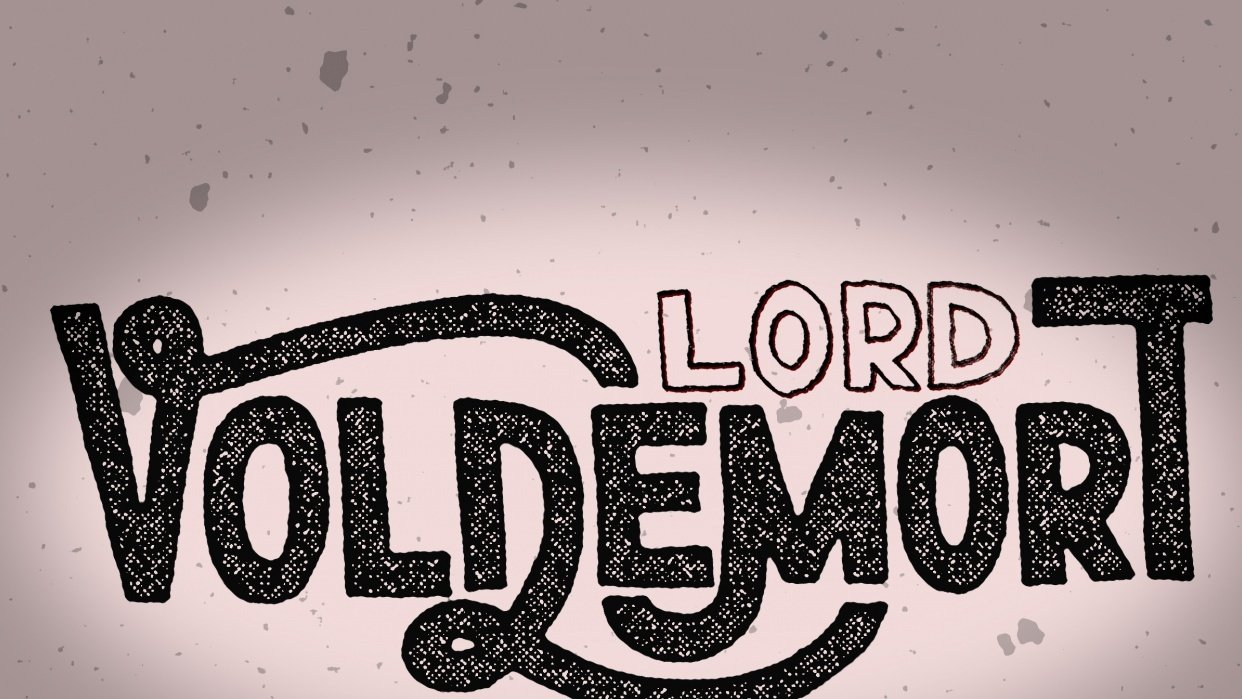 Lord Voldemort - student project