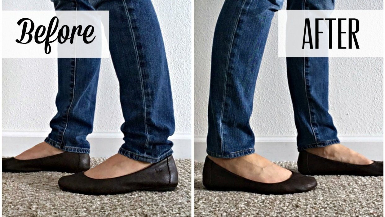 Shortening My Jeans with the Original Hem - student project