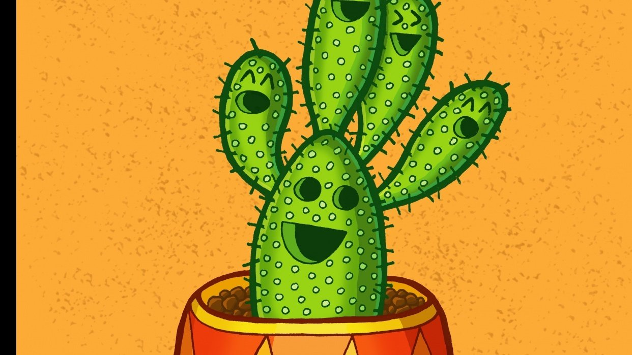 Cacti-Party - student project