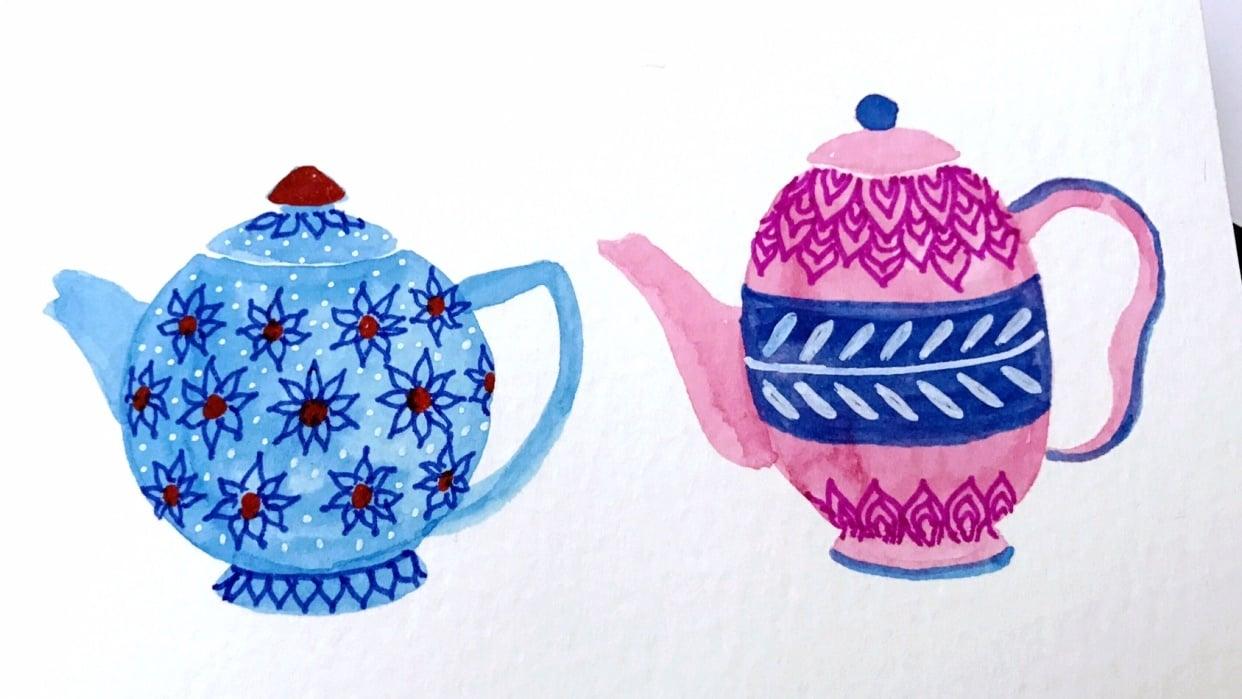 Tea Pots - student project