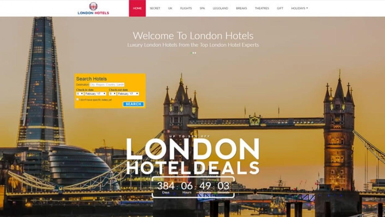 www.LondonHotels.city - student project