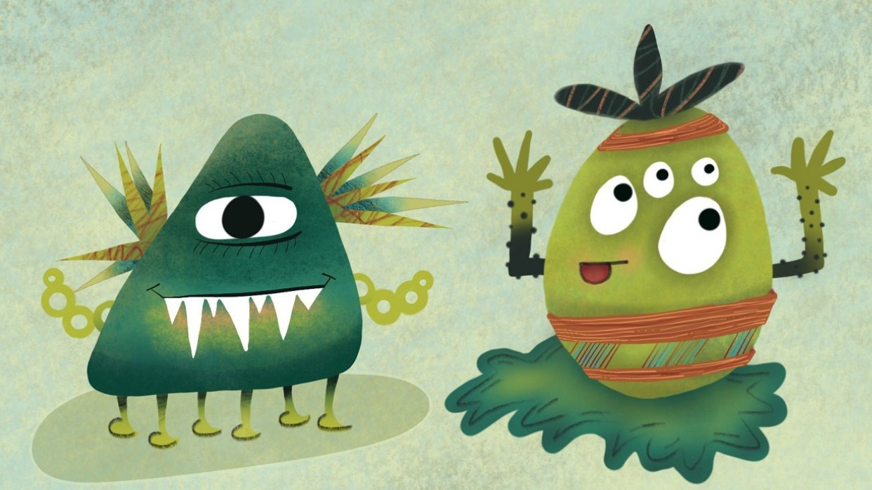 Silly Monsters - student project