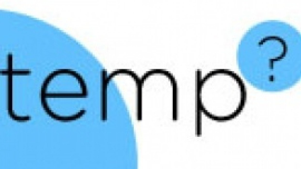 TempApp - student project
