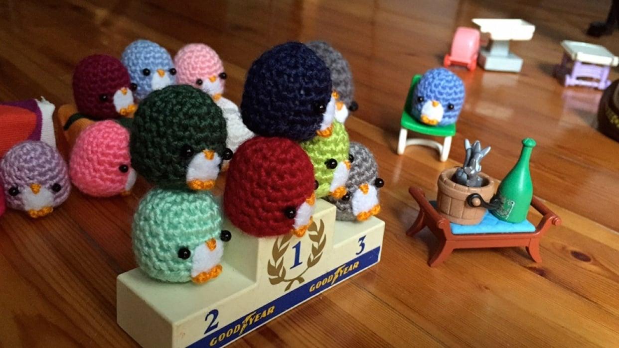 Penguin Race - student project