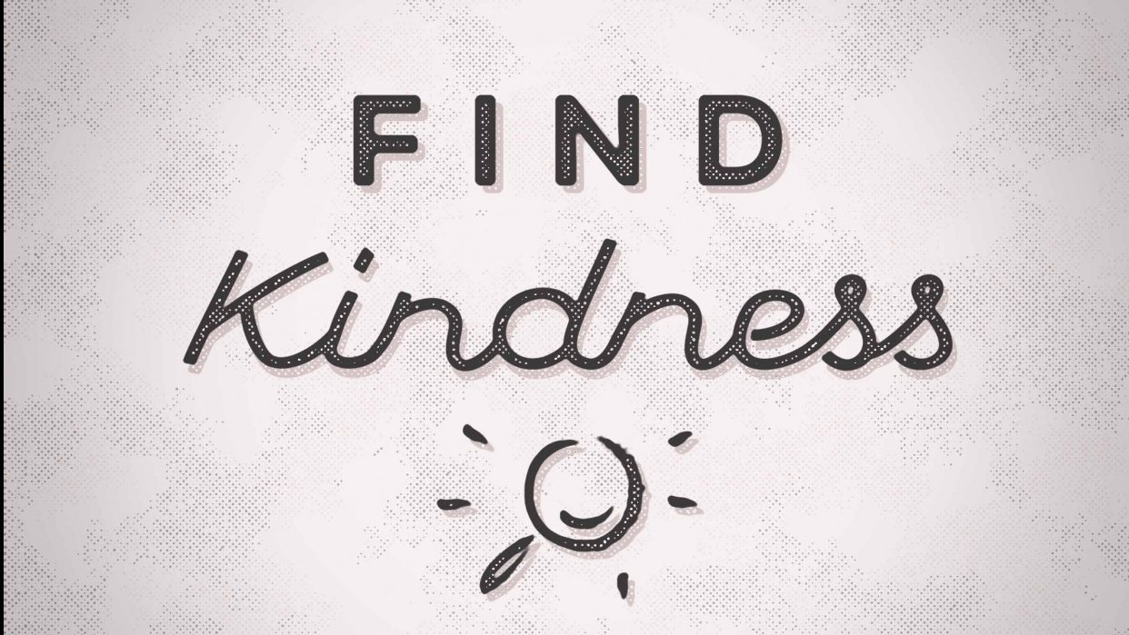 Find Kindness - student project