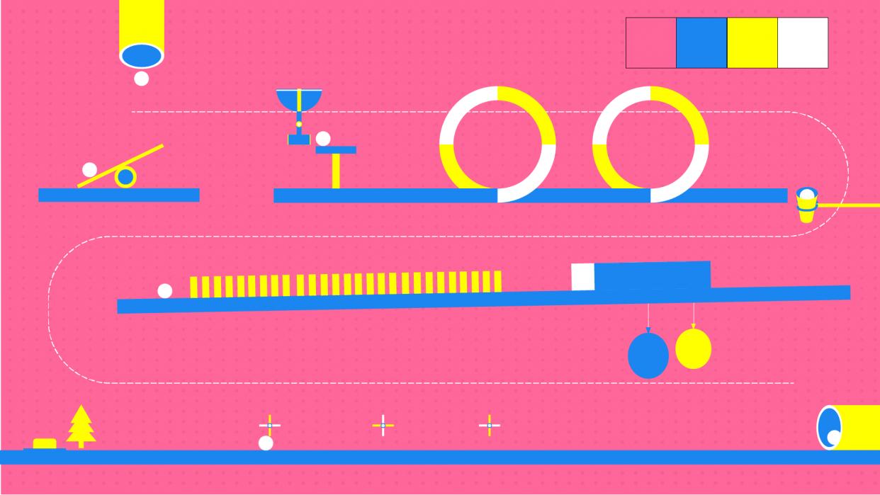 Rube Goldberg - student project