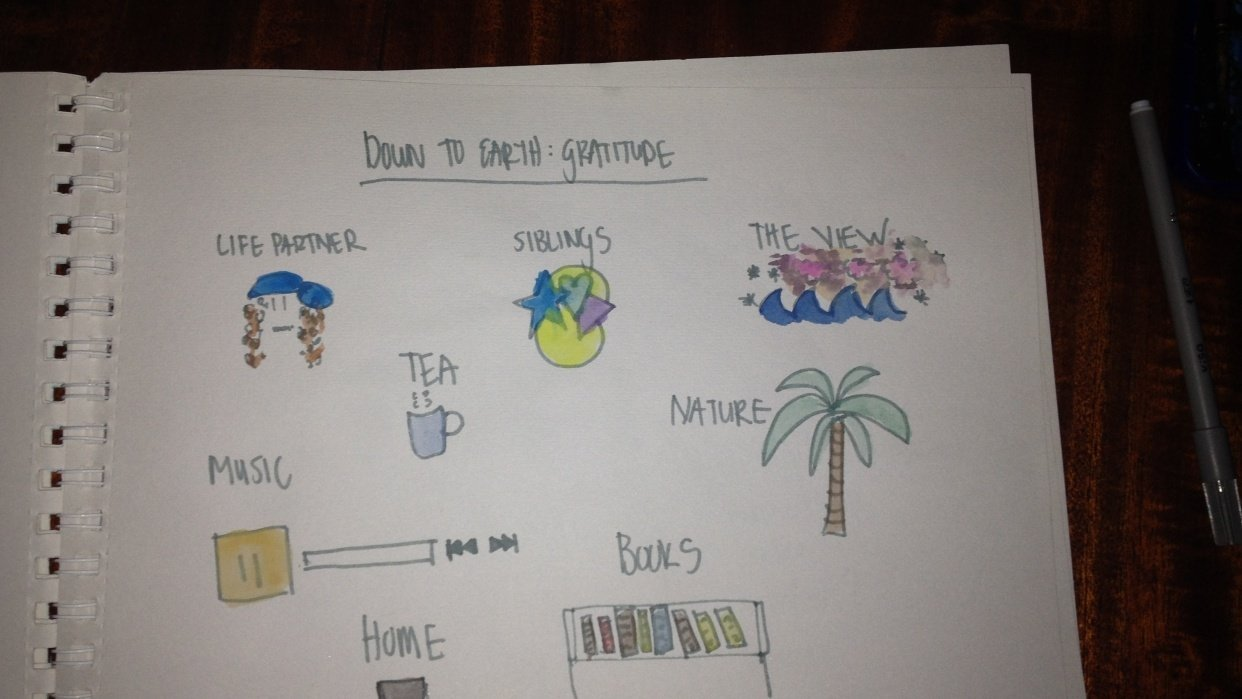 Down to Earth: Gratitude - student project