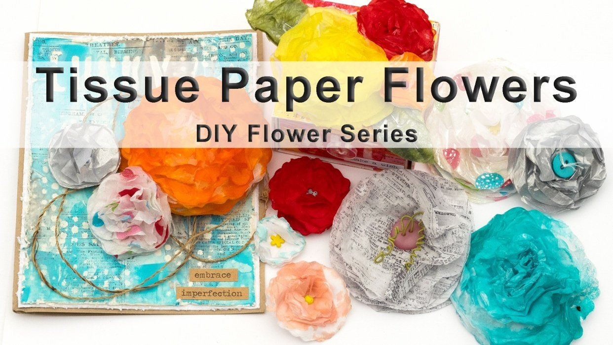 Sample Projects Tissue Paper Flowers - student project