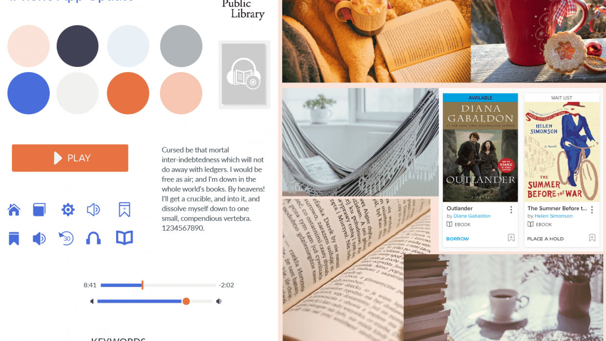 Update for Library app - student project