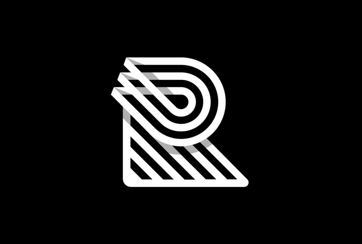 """R"" Monogram - student project"