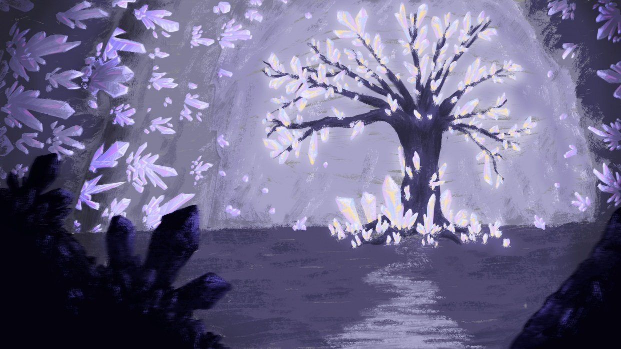 Crystal Tree - student project