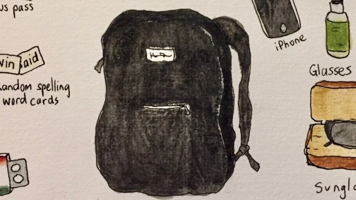 What's in my bag? - student project