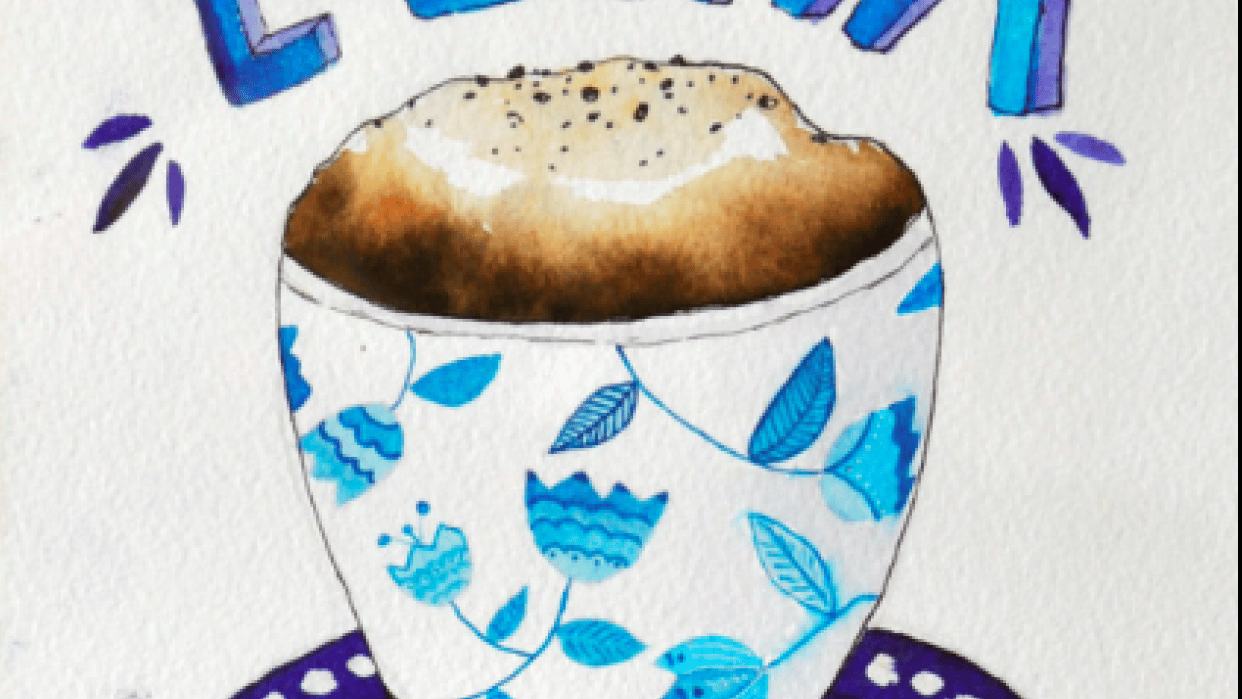 Coffee Illustration - student project