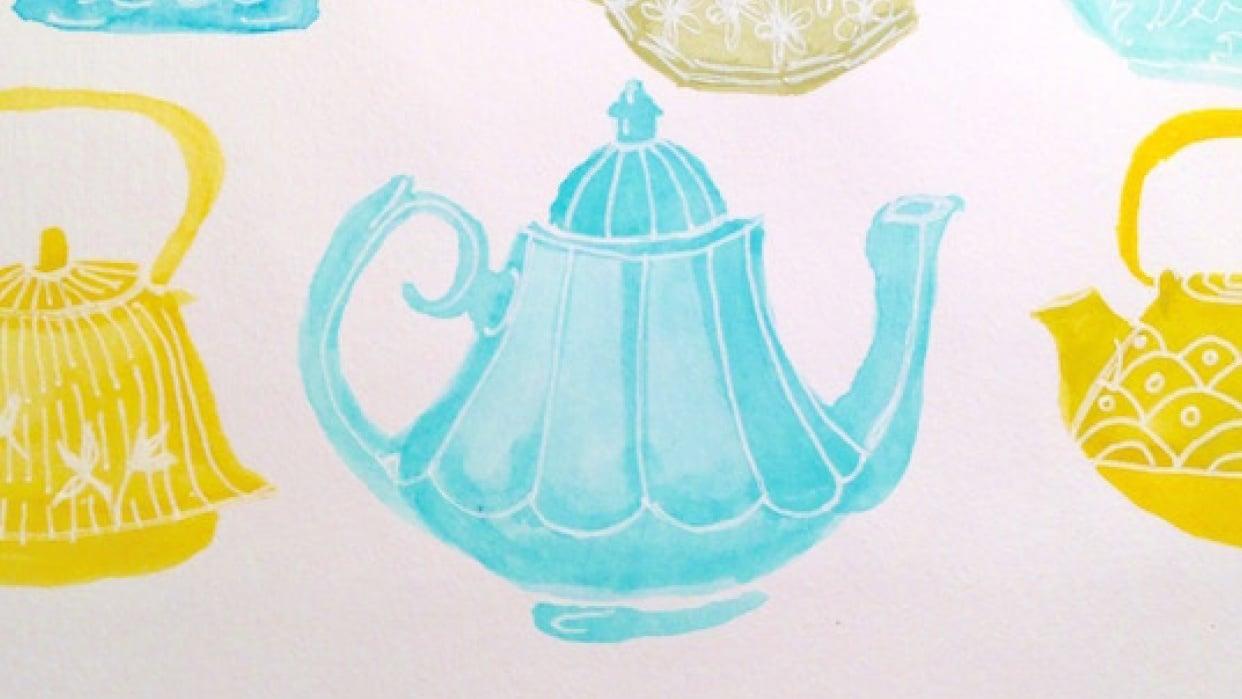 Little teapots - student project