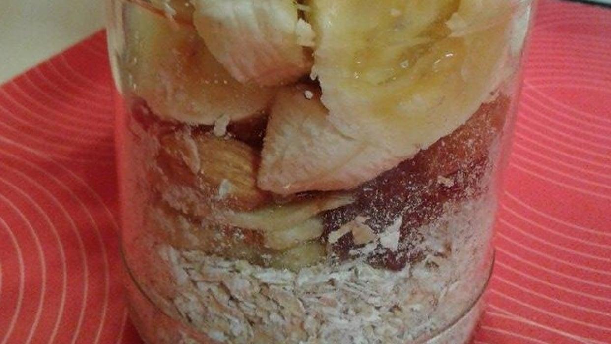 Banana, Almond, Raisin Oats - student project