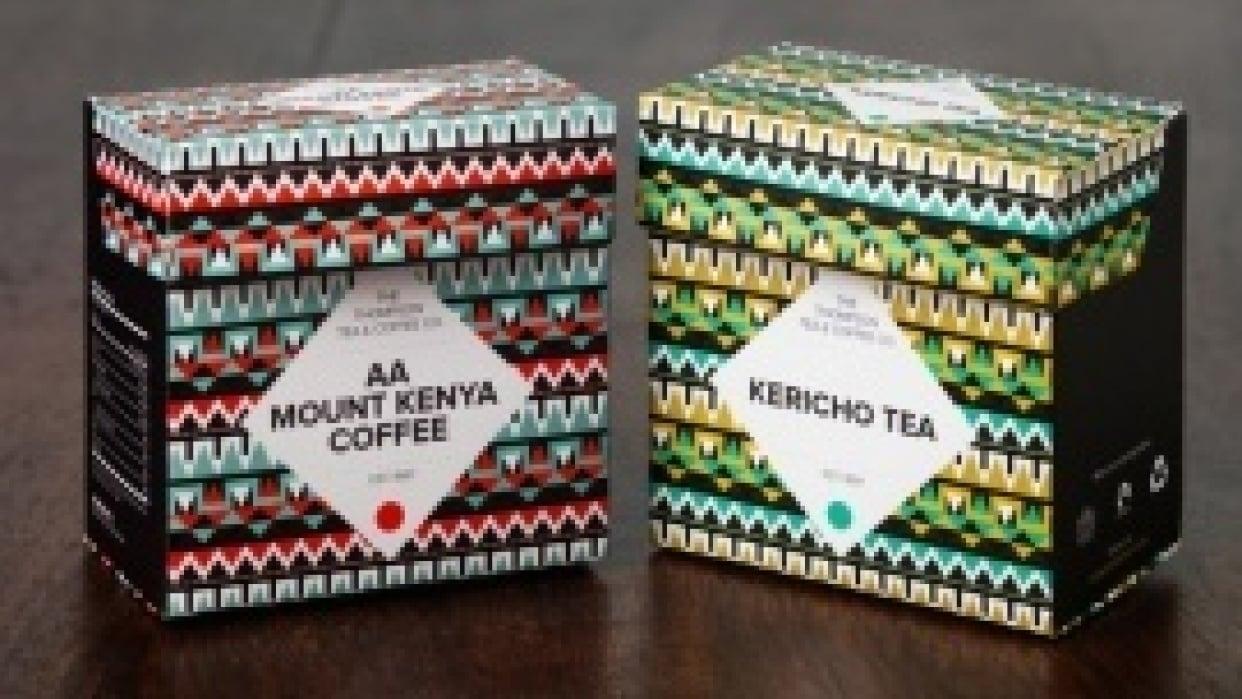 Thompson Tea & Coffee Motion Graphics - student project